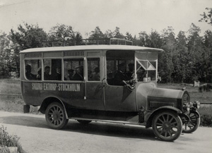 Första bussen i Skuru togs i trafik 1920